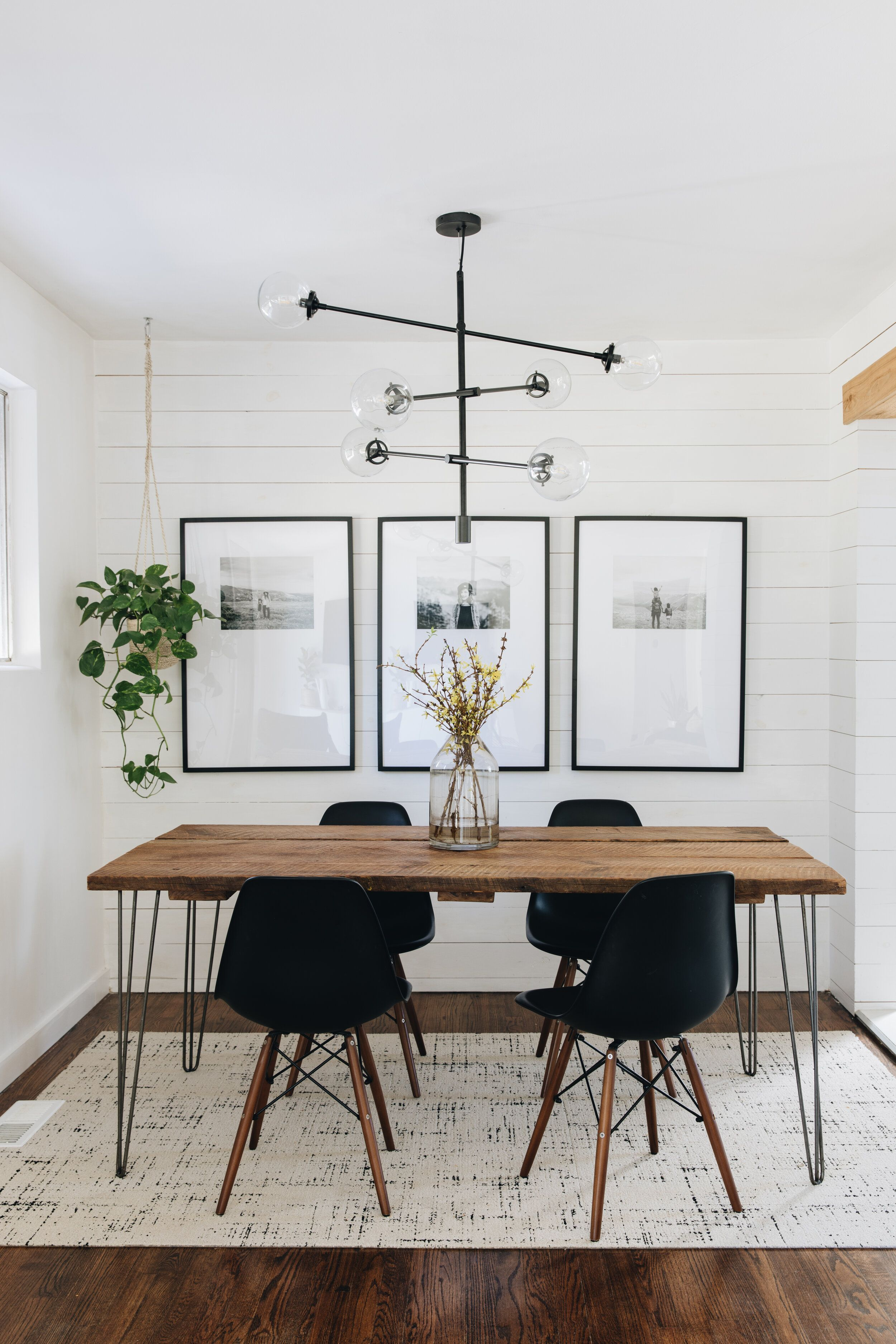 Photo of Dining Room Lighting Refresh with AllModern — Mountainside Home
