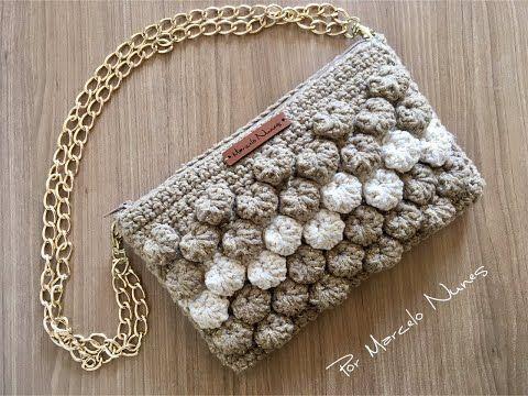 9a9ec1a14 Clutch Cogumelo - Bolsa em Crochê por Marcelo Nunes - YouTube ...
