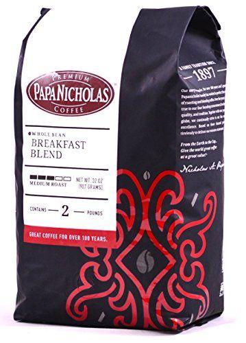 PapaNicholas Coffee Whole Bean Coffee Breakfast Blend 2