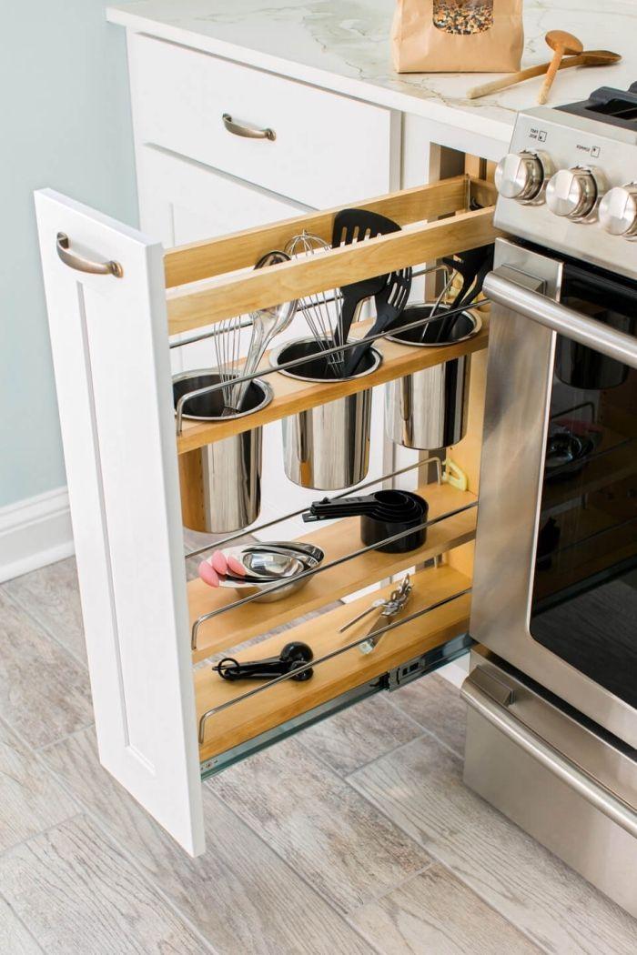 1001 tutos faciles et id es inspirantes pour trouver la - Amenagement interieur de placard de cuisine ...