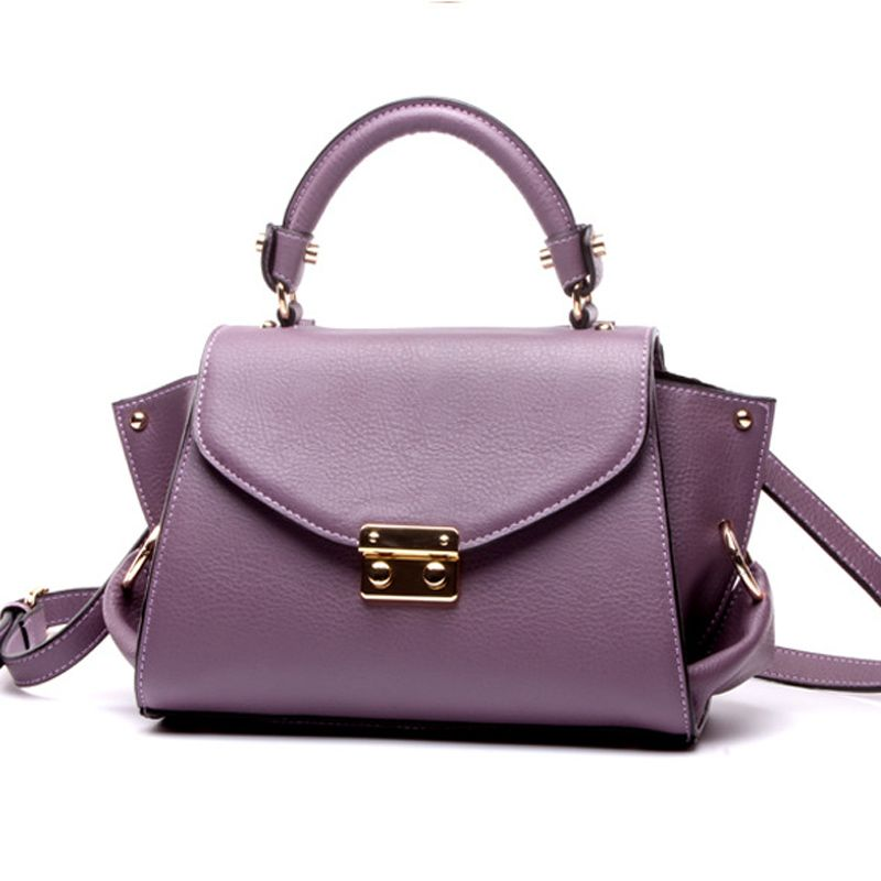caa016d1e68c Leather · Hot fashion European style real cow genuine leather women s  handbag luxury brand lady handbags shoulder bag