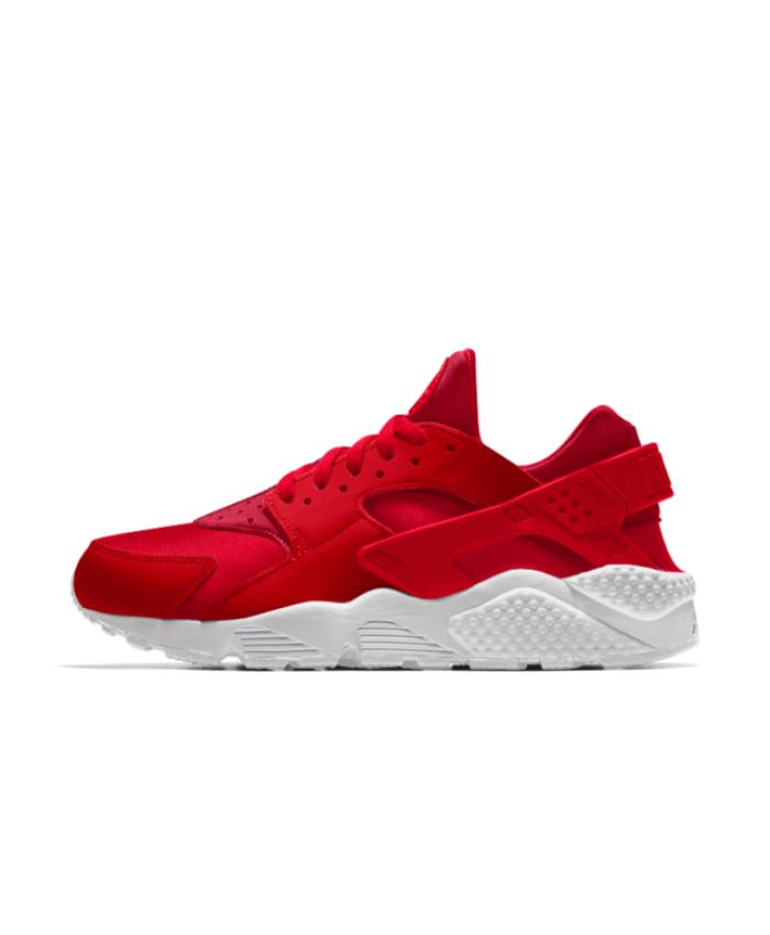 brand new d99e2 70153 Nike Air Huarache Essential iD University Red White Shoes Very comfortable,  stylish and light combined, free shipping.