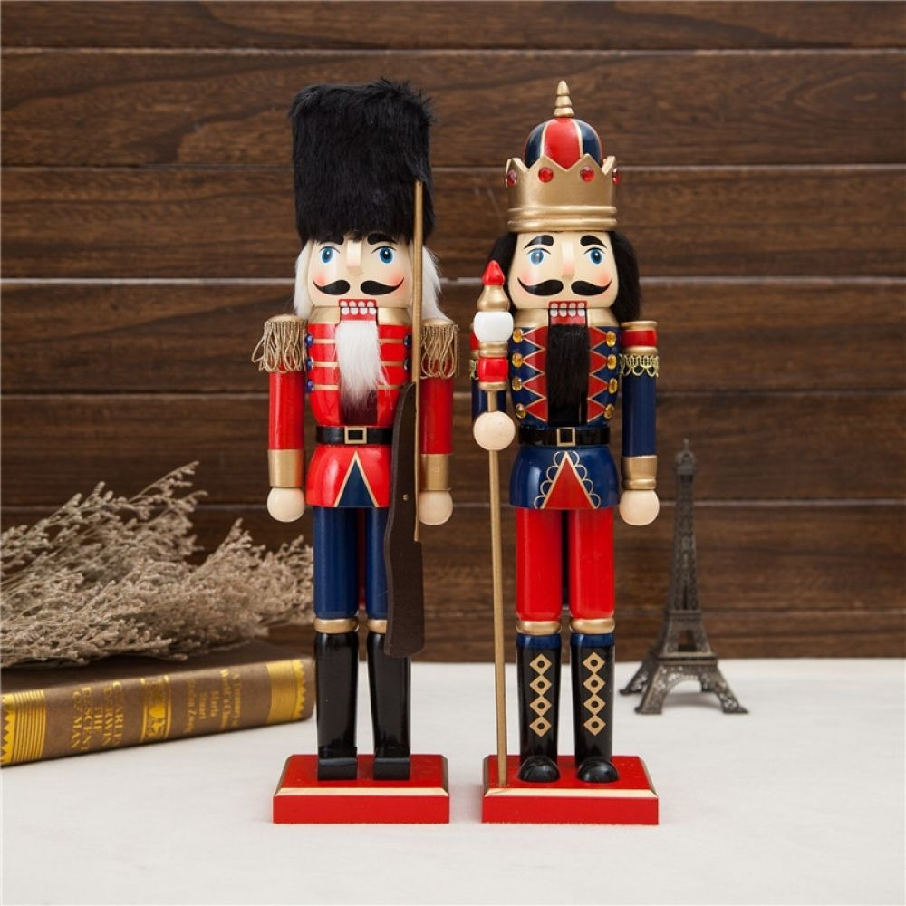 2pcs 38cm beautiful Original wood Nutcrackers Soilders Vintage home decoration accessories Christmas gift nutcrackers crafts Price: $30.80 & FREE Shipping #fashion >#jewellery >>#topbrand >>>#newarrivals >#shoes >>#style >>>#jewelrymaking >#jewelrydesigner >>#jewelrydesign >>> Follow us @proshopperz @probuyerz #probuyerz