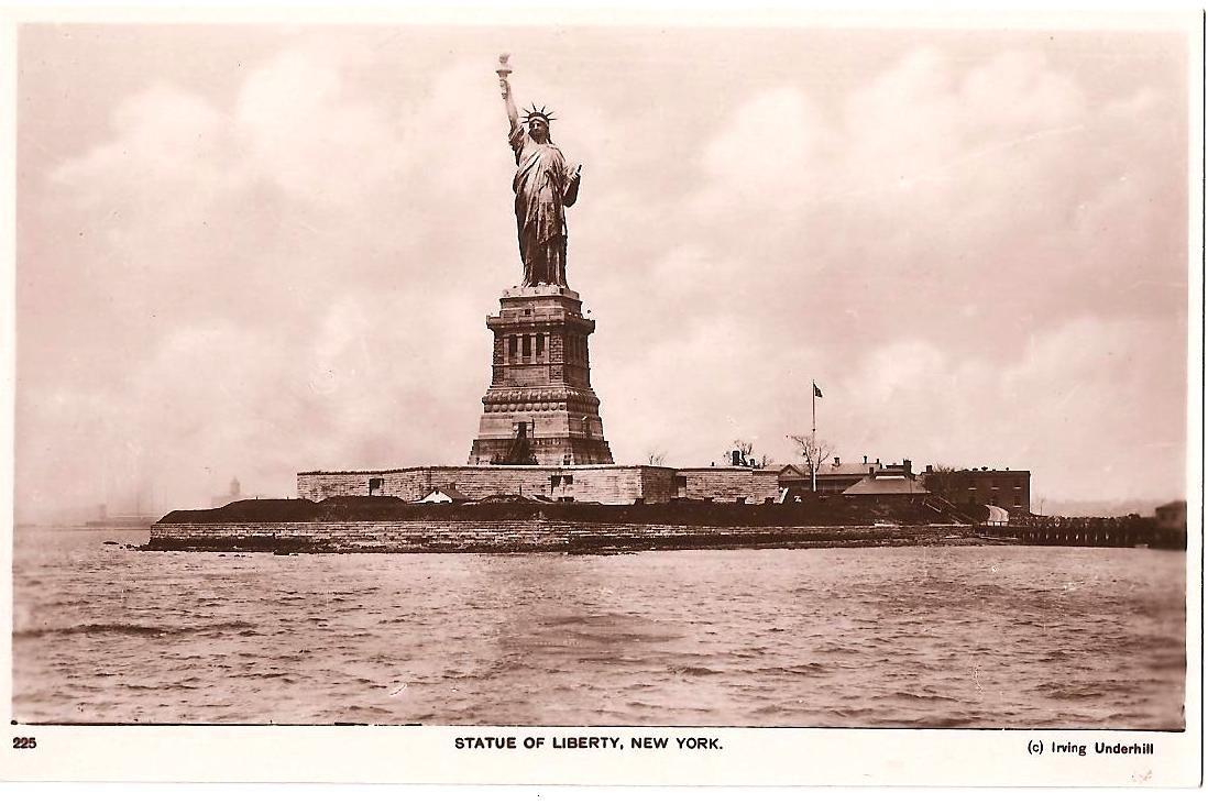 Statue of Liberty around turn of the 20th Century