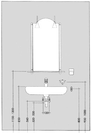 Montage nach Maß Bathroom dimensions, Bathroom layout
