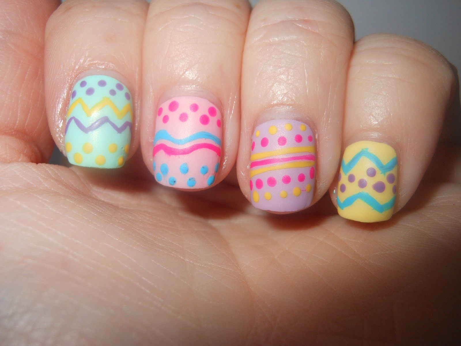 Amazing Beautiful  Easter Nail Art Design Ideas For Nail Beauty