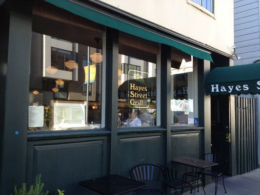 Hayes Street Grill for fish and fries Seafood