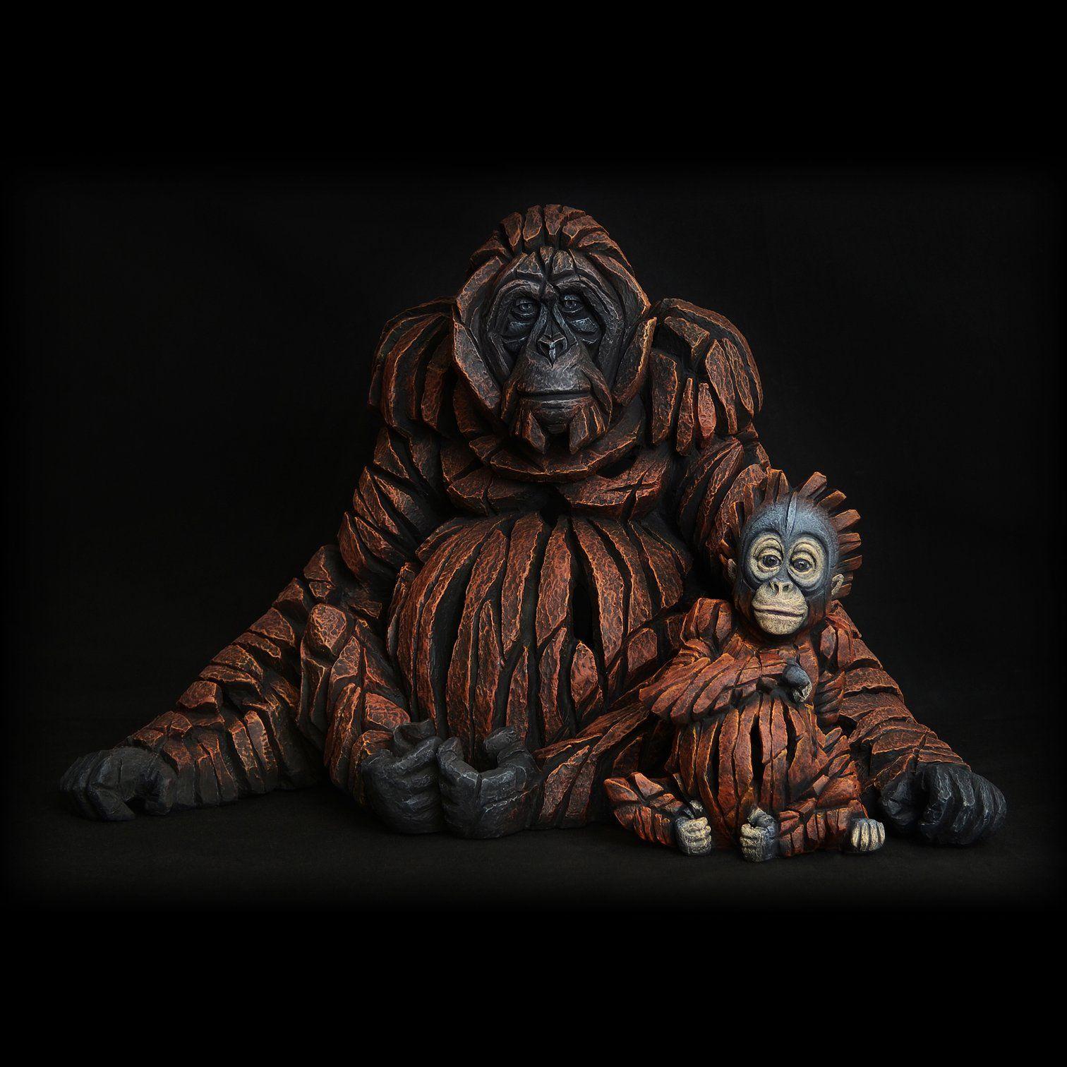 Edge Sculpture Orangutan Figurine