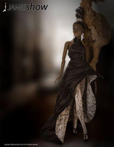 JAMIEshow Black Pearl Natalie (Photo: G. Gonzalez)
