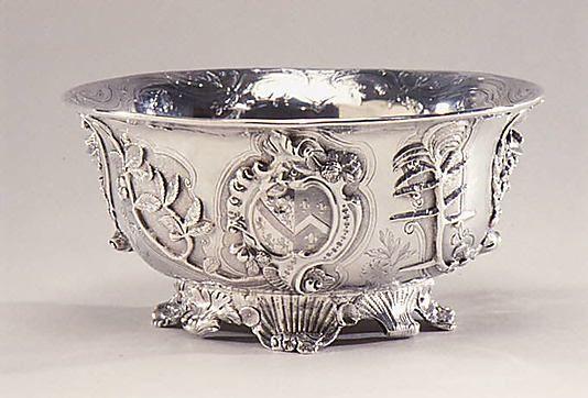 Bowl 1744-45 Paul de Lamerie (1688–1751, active 1712–51) English (London) silver