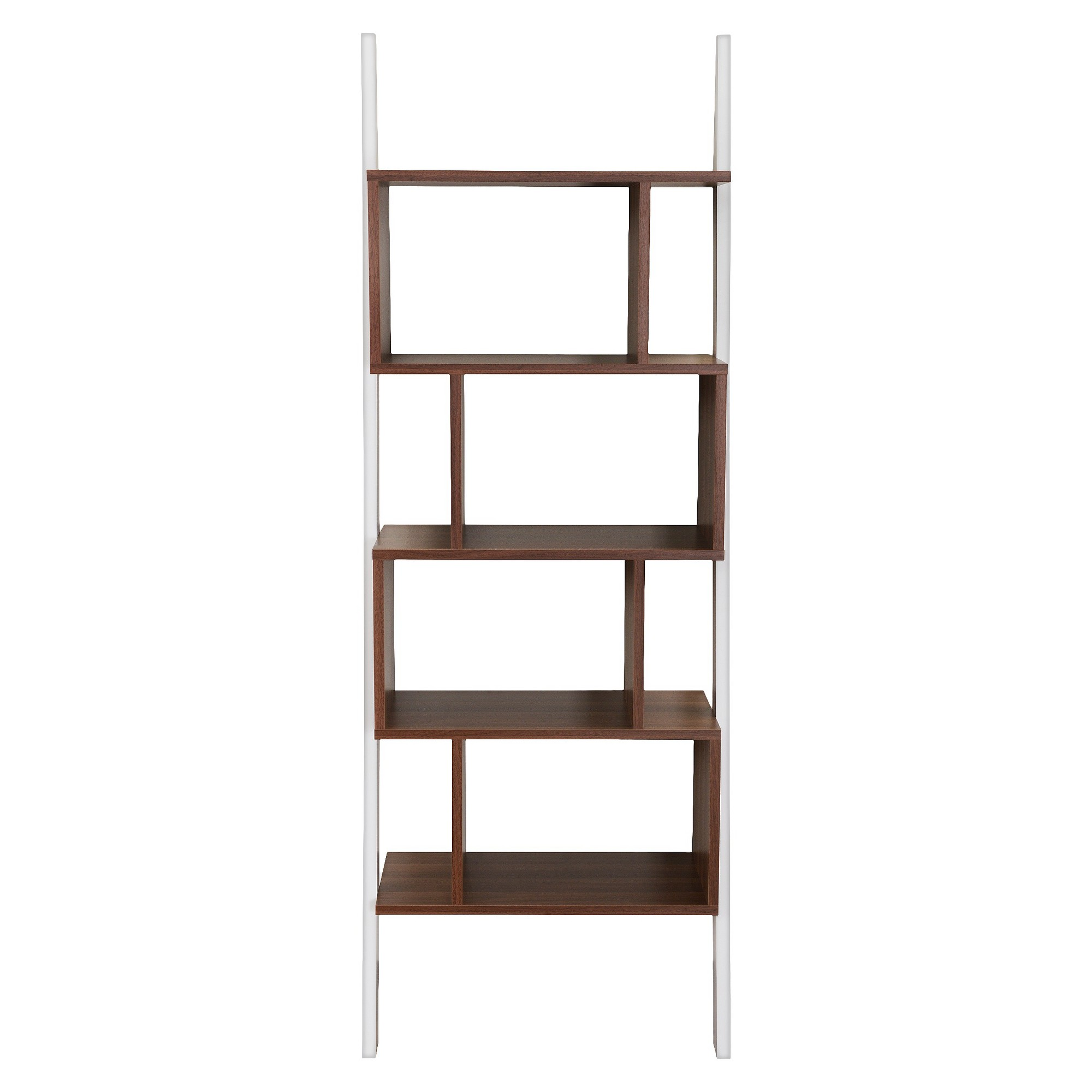Homes inside out ascencio ladder bookshelf and display case