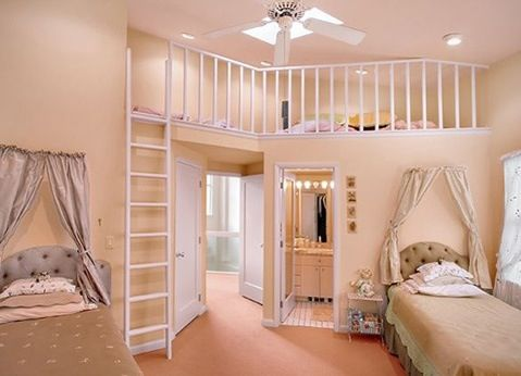 40 Room Design Ideas For Teenage Girls Shared Rooms Girl Bedroom Beauteous Decoration Ideas For Bedrooms Teenage Set Property