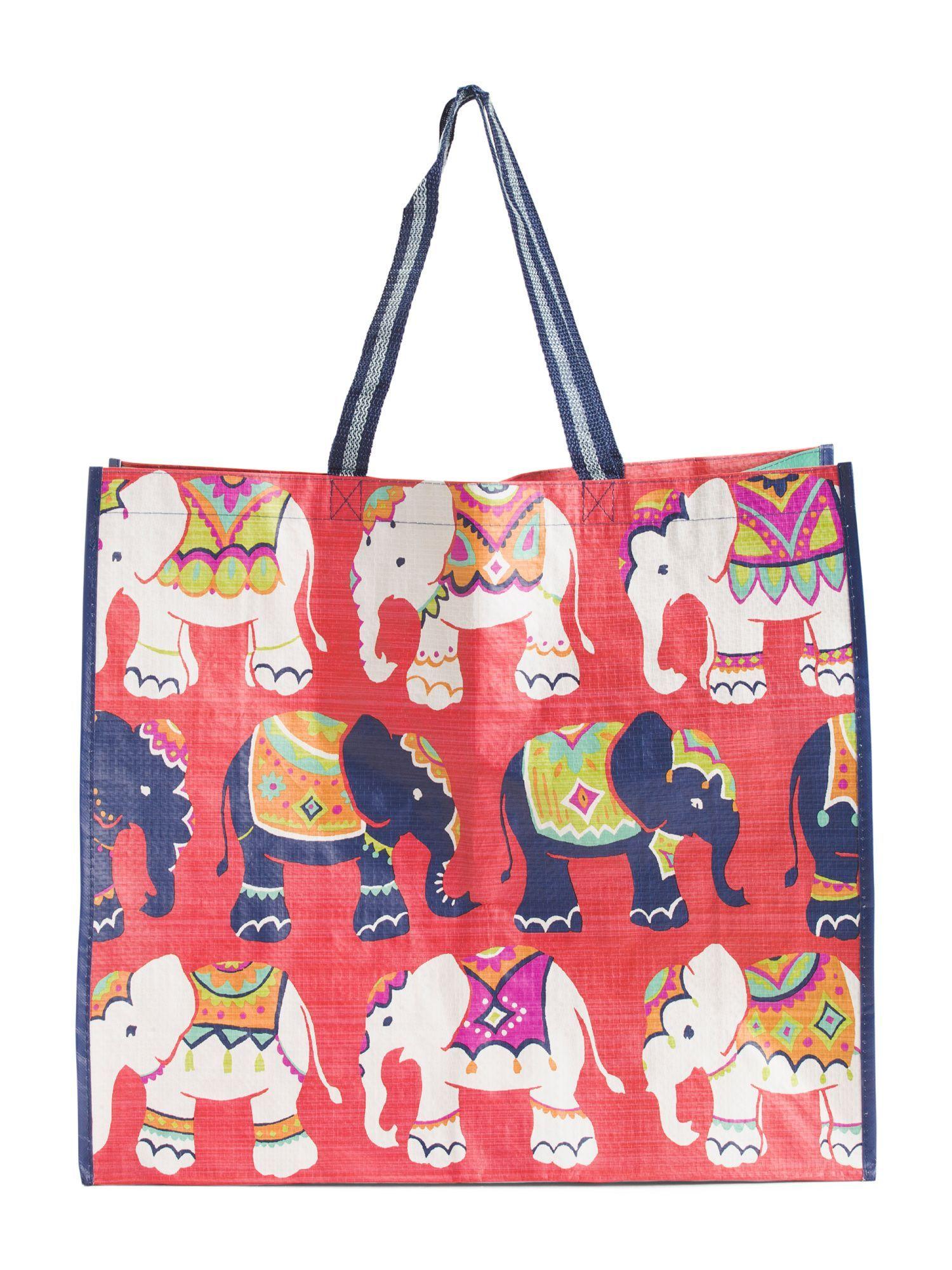 Elephant Walk Reuseable Bag