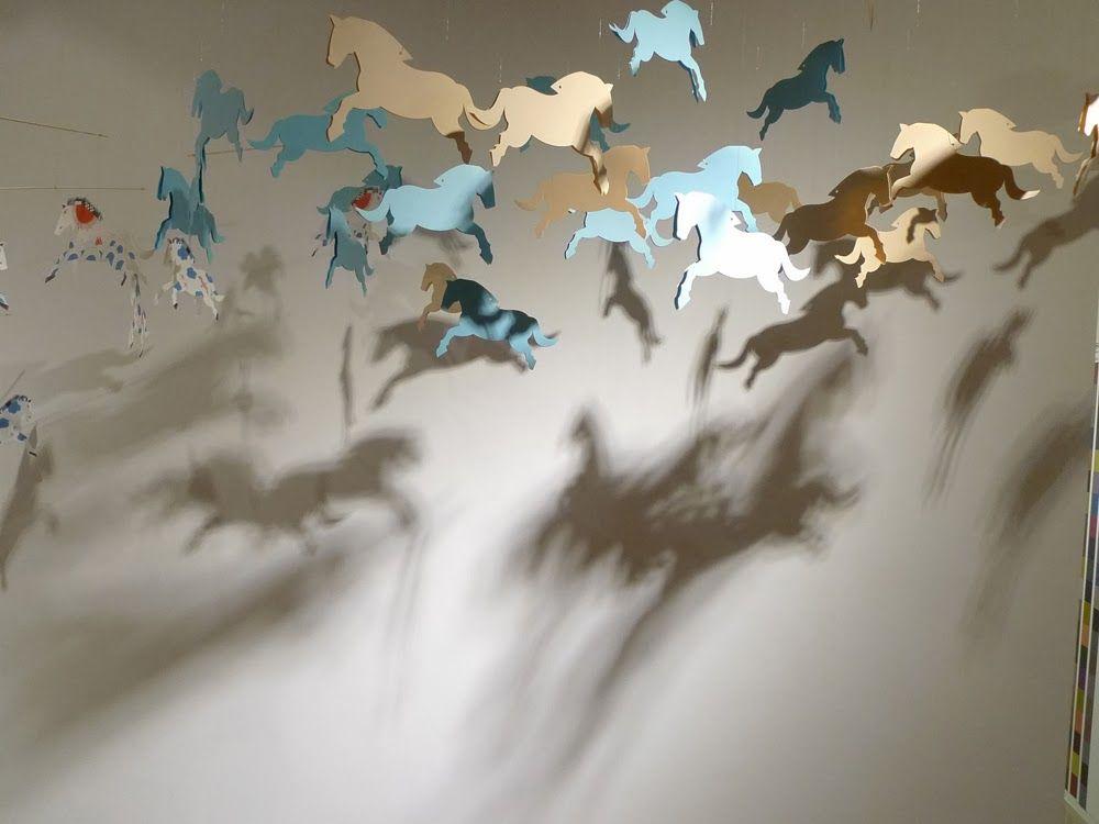 "古曉茵( siao yin gu ) X Xue Xue Kids-- exhibition ""天馬行空""  iinstallation by gu siaoyin"