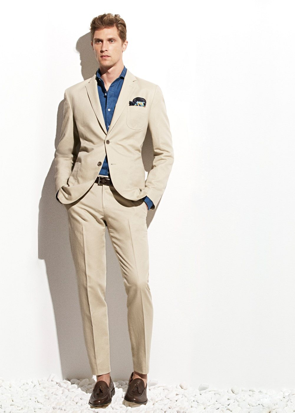 Cotton Linen Suit From Mango All About Men In 2019