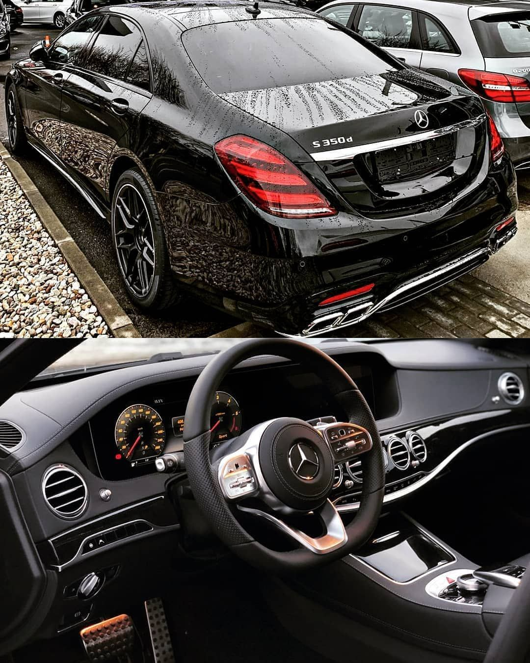 Mercedes Benz S350d with AMG bodykit ?Follow @uber.luxury for more?DM for Picture Credits.