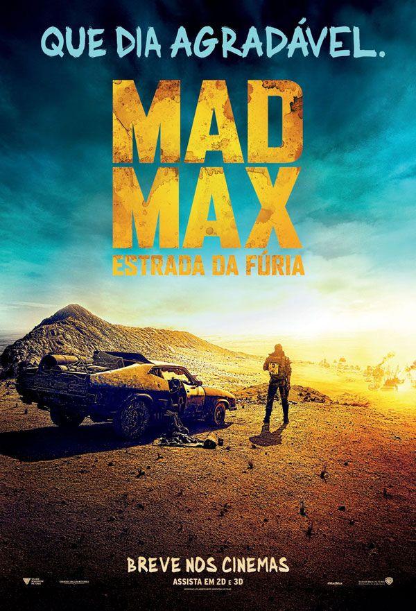 Poster Nacional Do Filme Mad Max Estrada Da Furia Filmes De