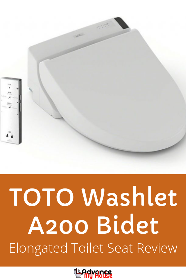Toto Washlet A200 Elongated Bidet Toilet Seat Review Washlet