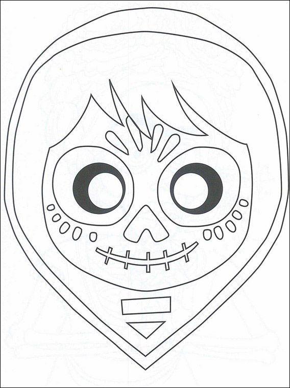 Dibujos para imprimir y pintar para niños Coco 28 | Español ...