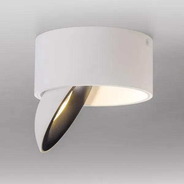 LED Tages Licht Decken Lampe Dimmer Fernbedienung Strahler Leuchte rund weiß