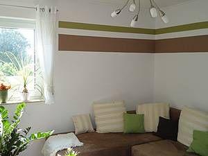 Wände im Streifenlook | Wohnideen | Pinterest | Wände, Streifen und ...