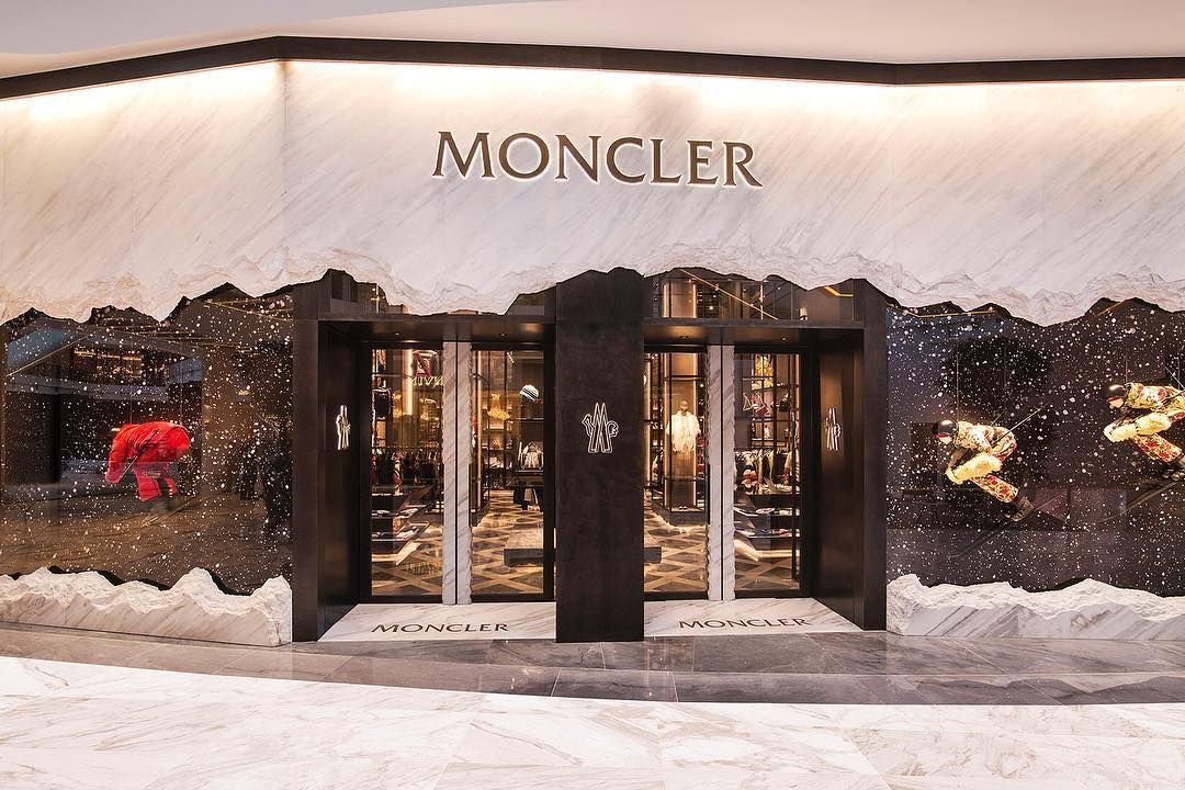 "online retailer f5b2d 2987a Moncler ""Explore the new #Moncler boutique recently opened ..."