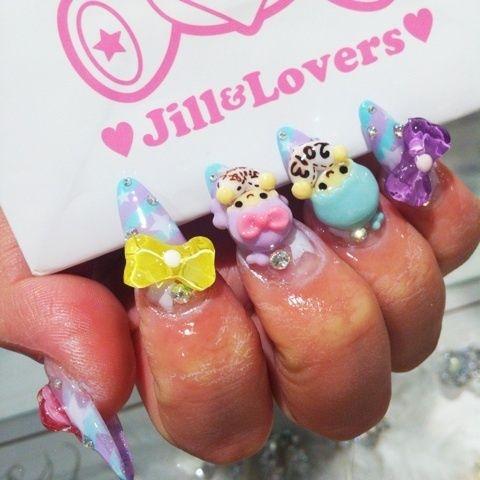 クリーミーネオンネイル☆の画像 |  Jill&Lovers shibuyaのブログ