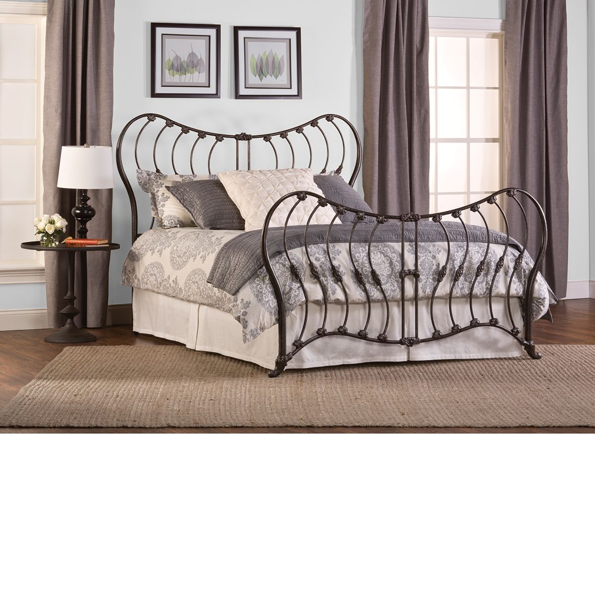 The Dump Furniture   CHARLOTTE The Exact Bed From Another Post About The  Bedding I Want