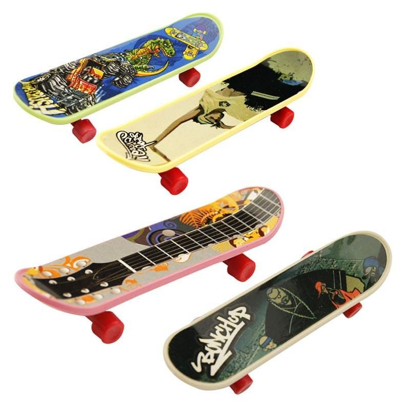 Finger Skateboard Fingerboard Skate Board Kids Table Deck Mini Children Toys