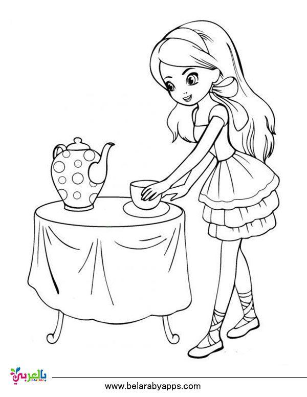 رسومات اطفال للتلوين باربي تلوين انمي للبنات للطباعة بالعربي نتعلم Princesa Sofia Para Colorir Desenhos Pra Colorir Desenhos Para Colorir