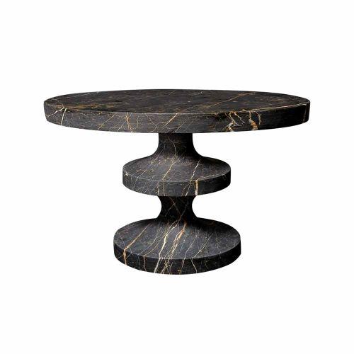 Marble Bishop Table, design by India Mahdavi, made by India Mahdavi ...