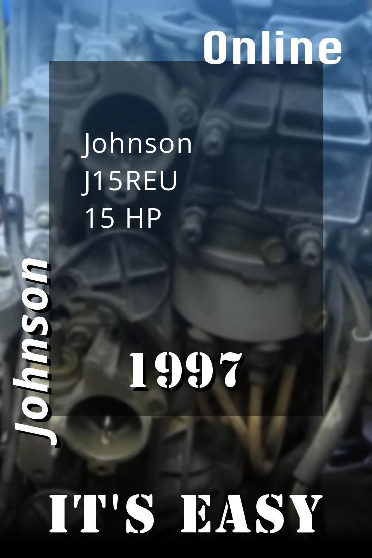 1997 J15reu Johnson 15hp Outboard Motor Repair Manuals Outboard Johnson