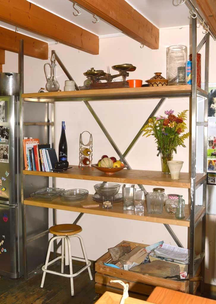 Création Du0027étagère Et Meubles De Rangement Steel Home Crée Votre étagère Ou Votre  Meuble