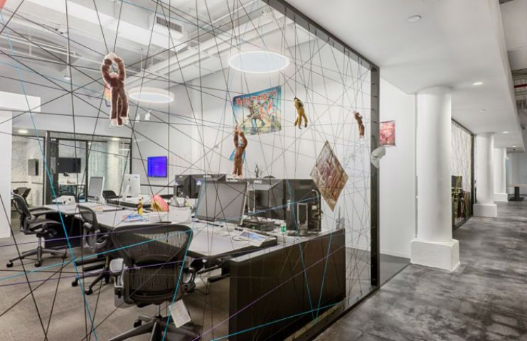 Music Streaming Company Spotify Has Recently Moved Into An Office Designed  By FOX Architects And Fit
