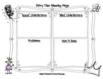 Fairytale Fun Writing Pack from SECRET STORIES® (Phonics