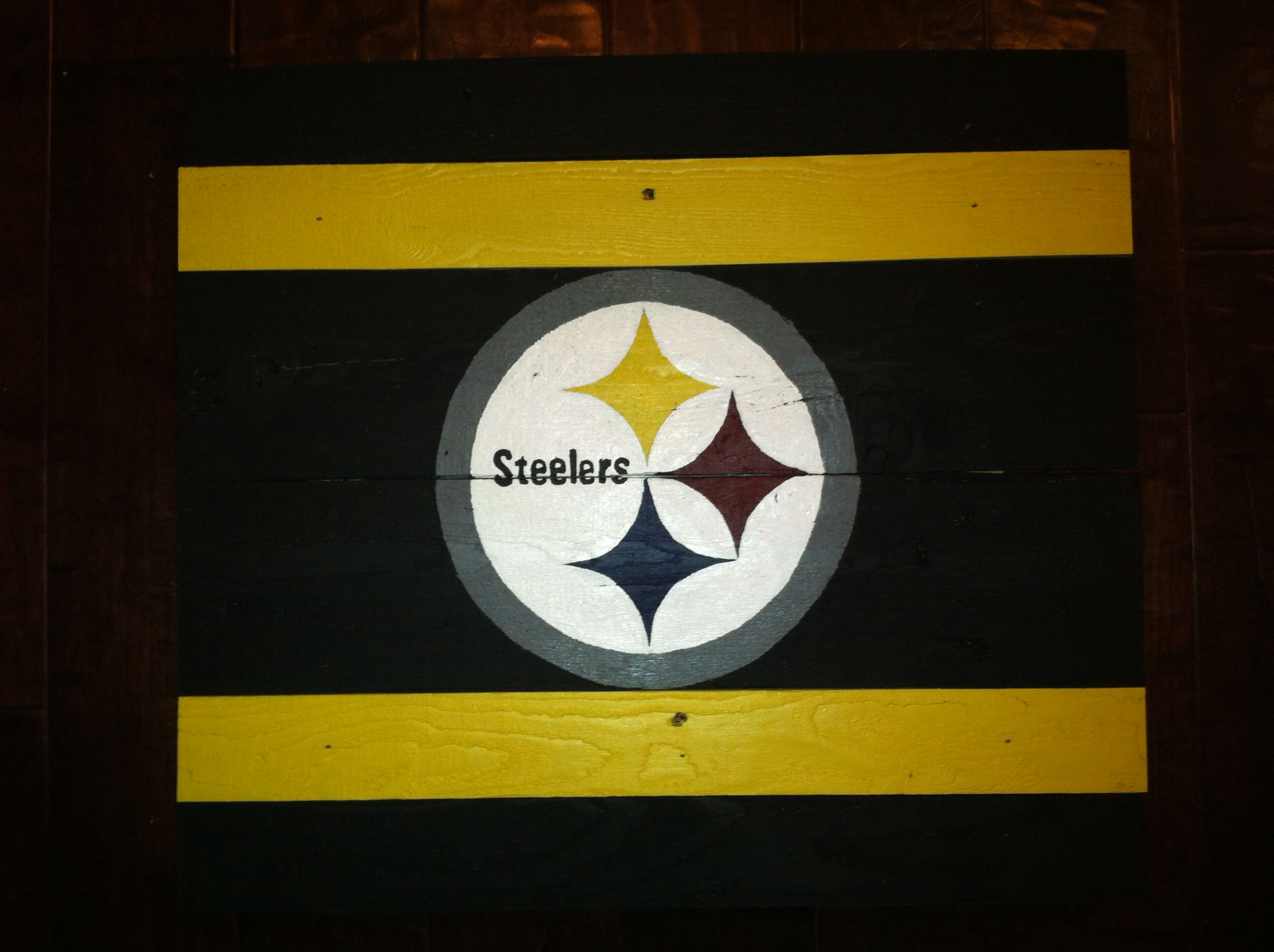 Steelers alternate | My Pallet Flags | Pinterest | Pallet flag and ...