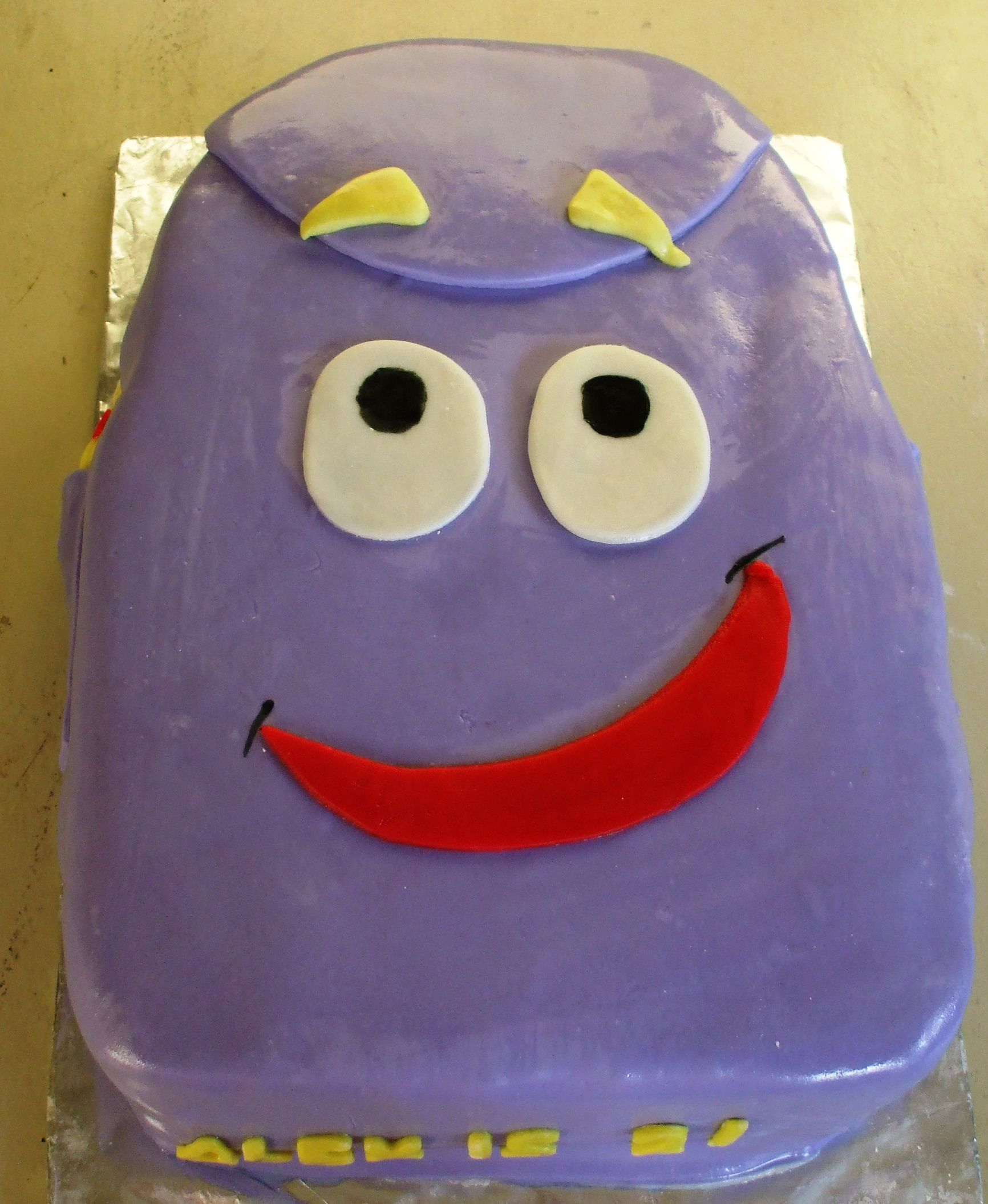 Dora's Backpack Cake | Party Planning in 2018 | Pinterest ...