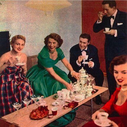 Vintage Dinner Party