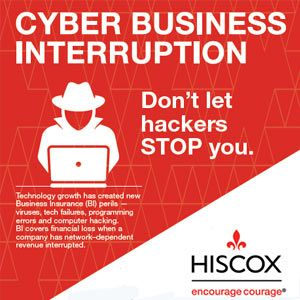 Cyber Business Interruption Business Underwriting Commercial Insurance