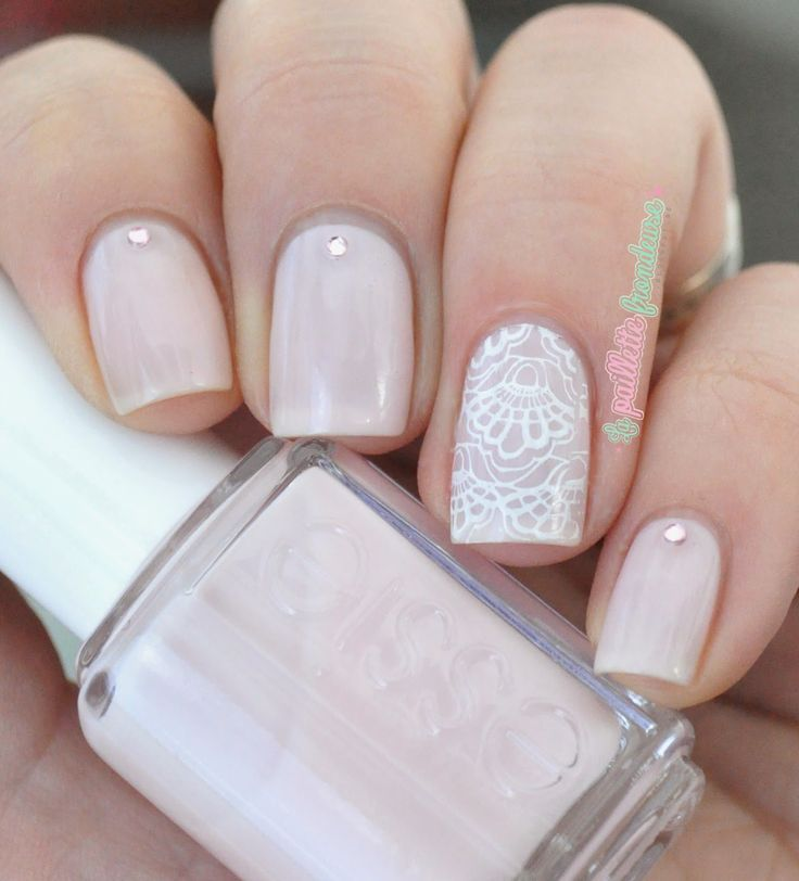 Essie Bridal Collection 2017 Tying The Knotie Wedding Lace Nail Art