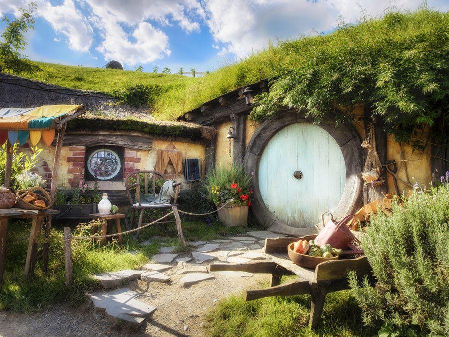 Hobbiton By Kay Brocks On 500px Hobbit House Hobbit Hole Green Roof Garden