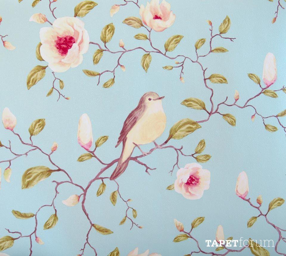 blomster tapet blomster tapet   Google Search | Wall treatments | Pinterest  blomster tapet