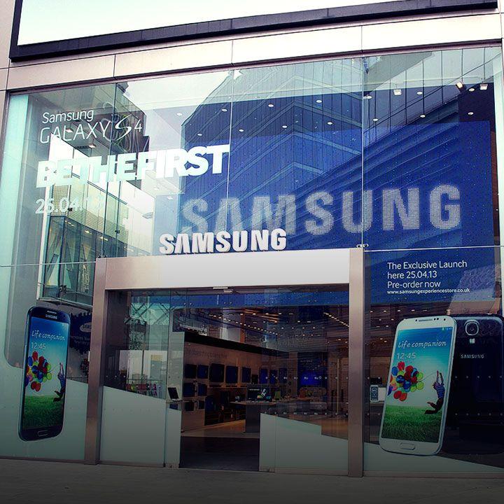 Samsung Experience Store Westfield Stratford Samsung Store Samsung Westfield