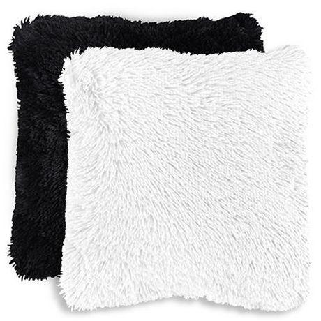 cushion in pillow pillows cheap fox fur wholesale black item