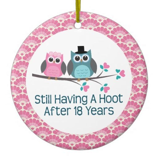 Happy 18th Wedding Anniversary Quotes Quotesgram Wedding Anniversary Quotes Owl Wedding 35th Wedding Anniversary Gift