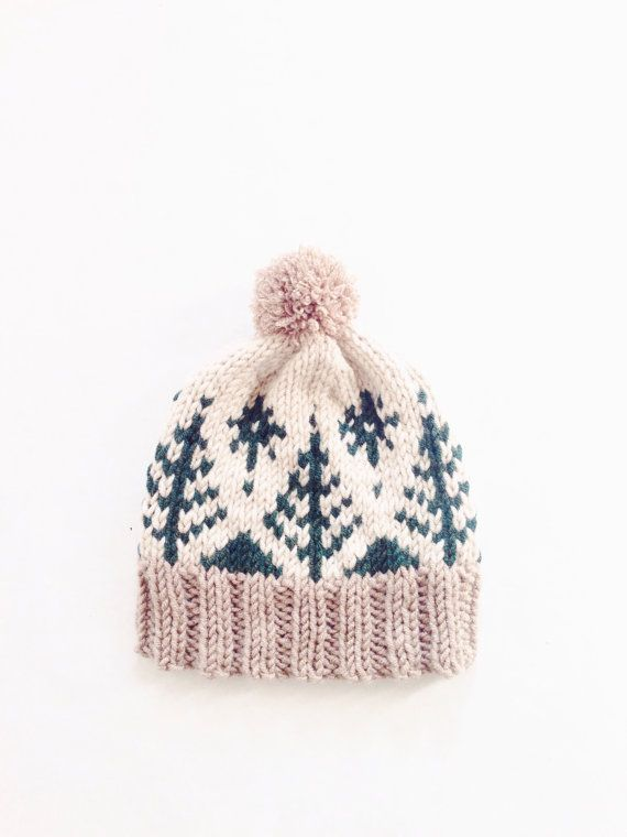Adirondack Toboggan by Two of Wands // Pompom Winter Ski Fair Isle ...
