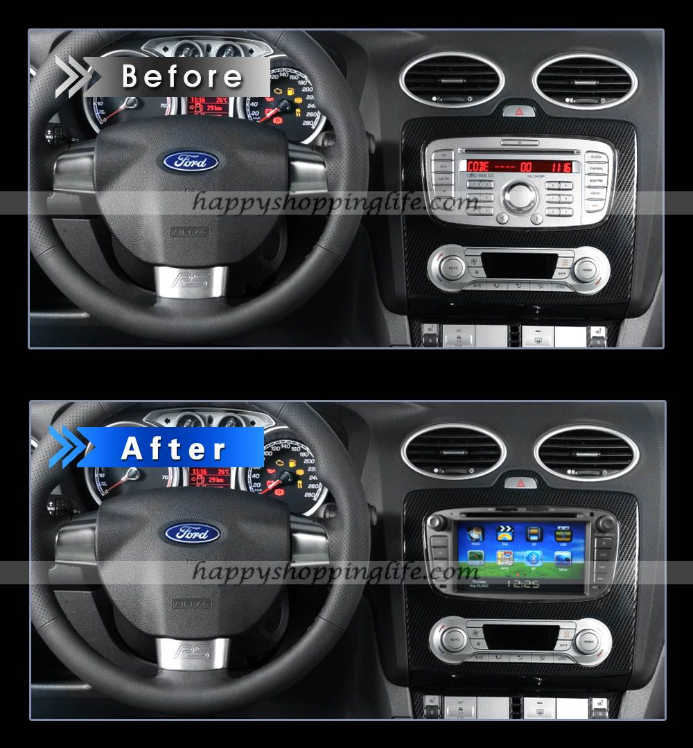 Install ford focus mondeo dvd player with navigate system bluetooth http www