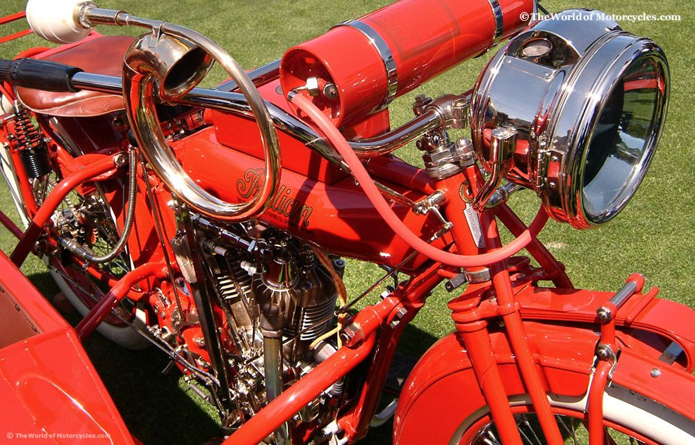 1915 Indian Twin 1000cc Engine