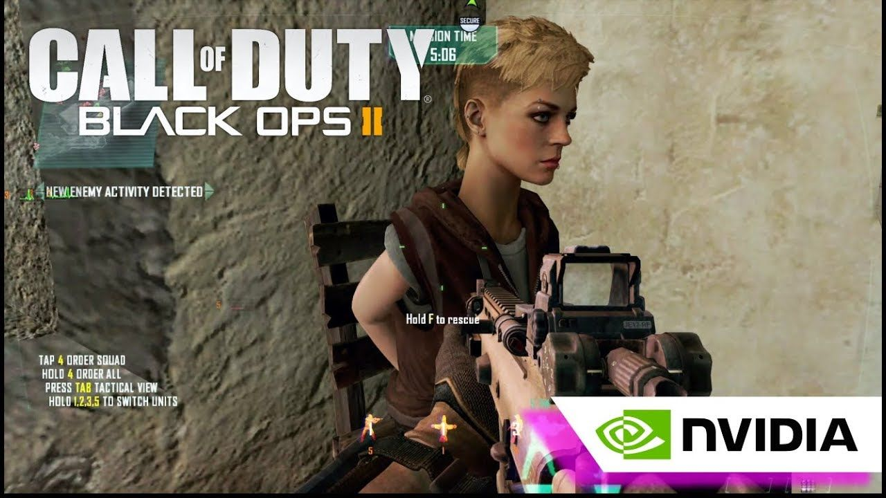 Find and Save Karma | Call of Duty : Black Ops 2 Gameplay PC