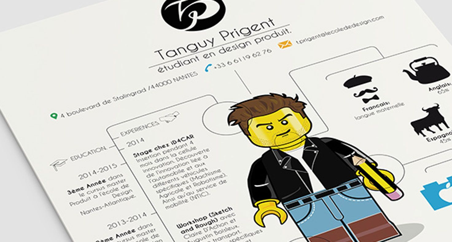 faire un cv video lego
